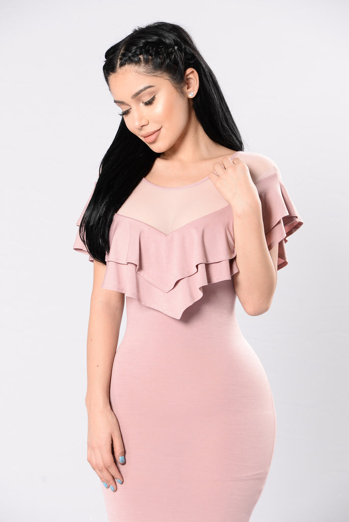 Love In The Future Dress - Dusty Pink
