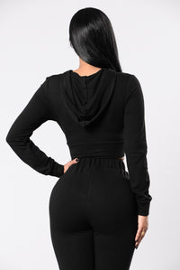 La Isla Bonita Top - Black