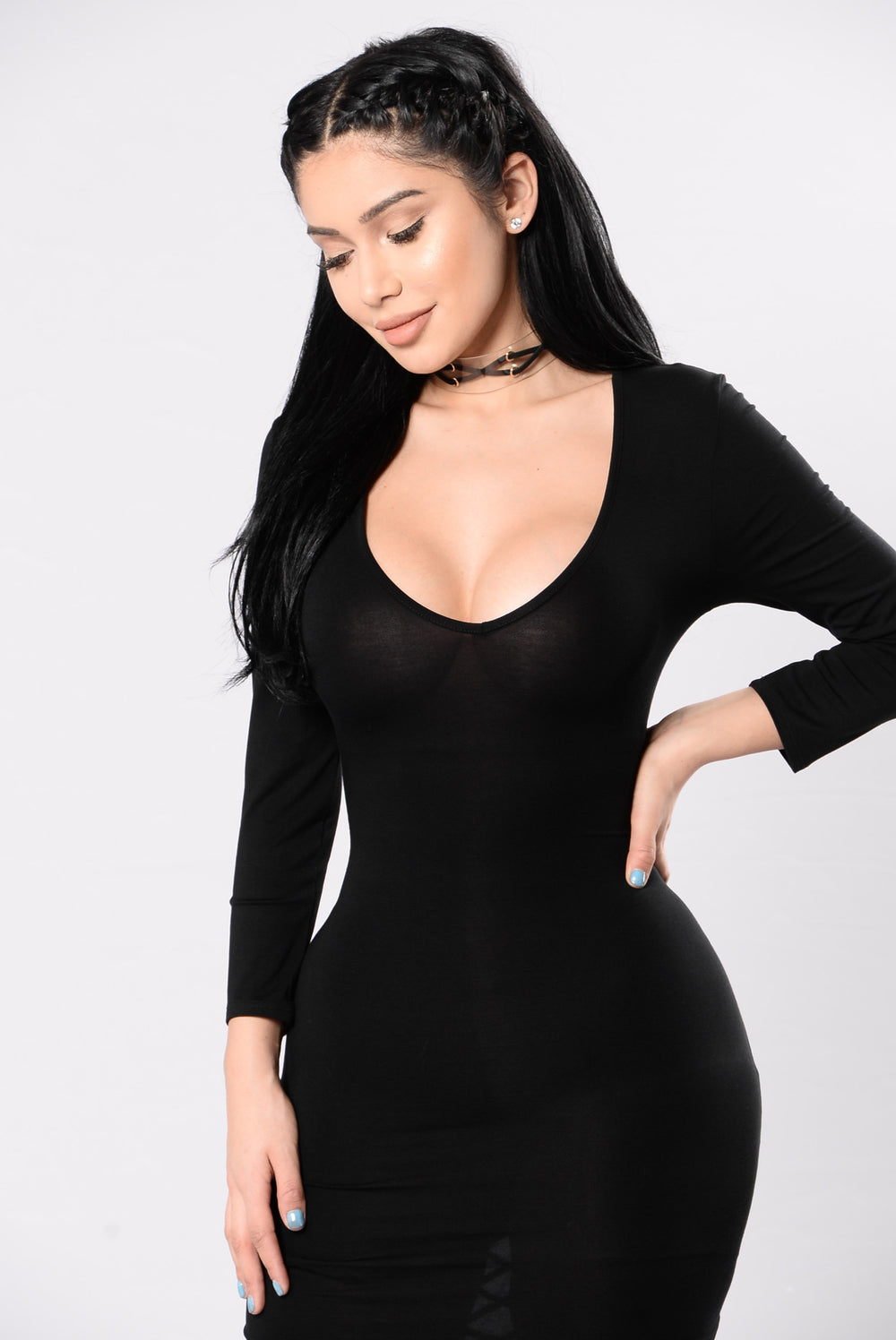Active Recovery Dress - Black