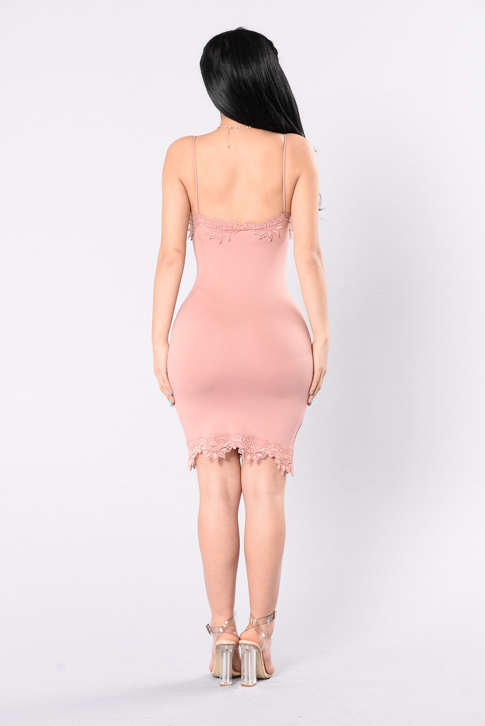 Lovin In Public Dress - Mauve
