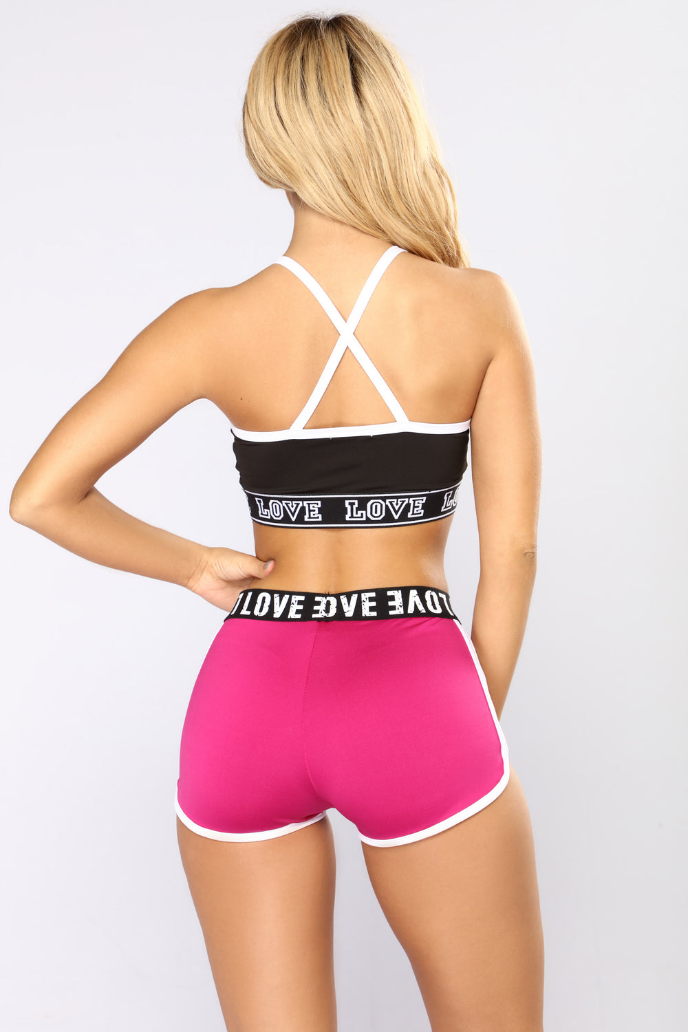 Never Your Lover Sports Bra - Black