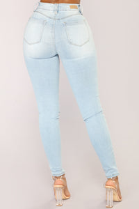 Lively Up Yourself Shinny Jeans - Light