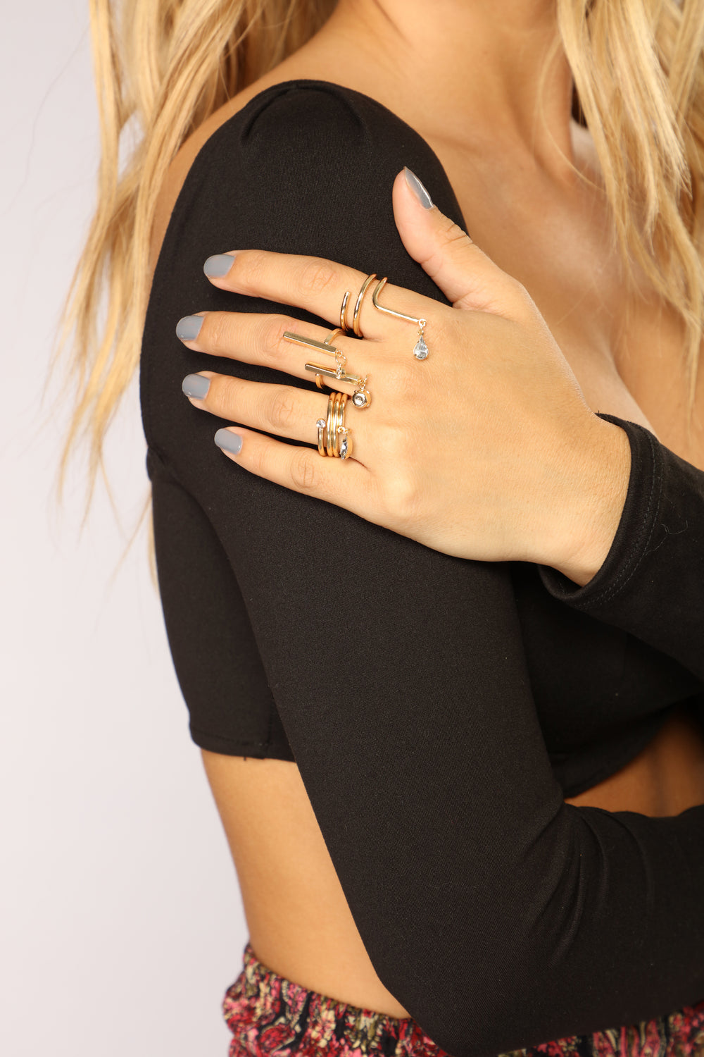 Better Than Ever Ring Set - Gold