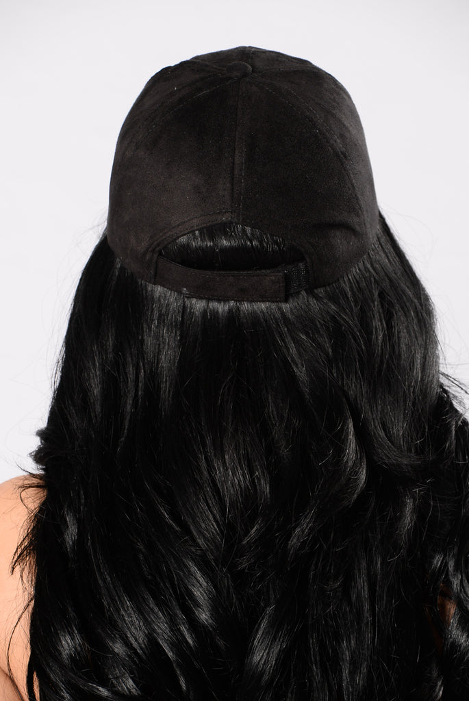 Party In The Dugout Cap - Black