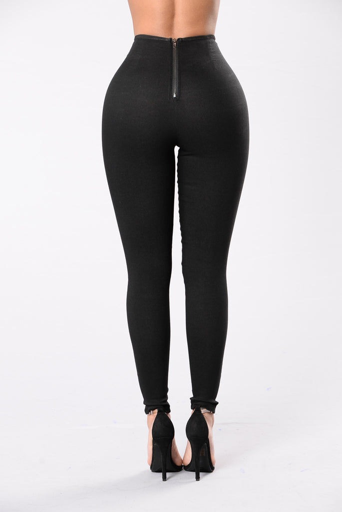 The Sound Of Silence Pants - Black