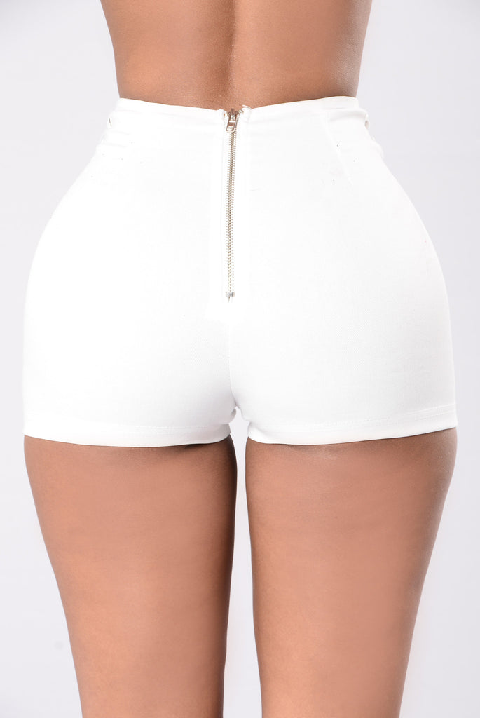 Call From Richie Shorts - White
