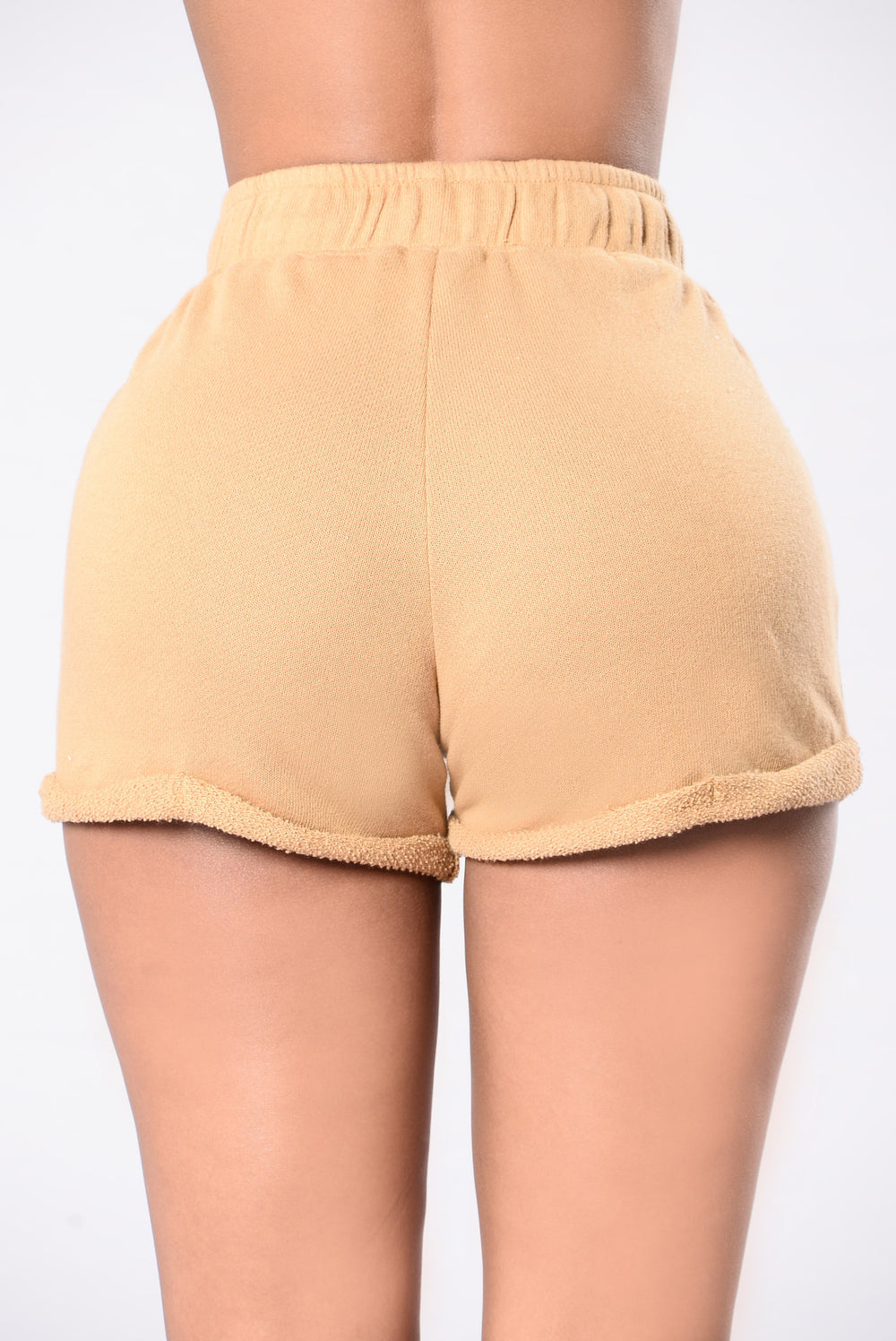 Calling All Ladies Shorts - Mustard