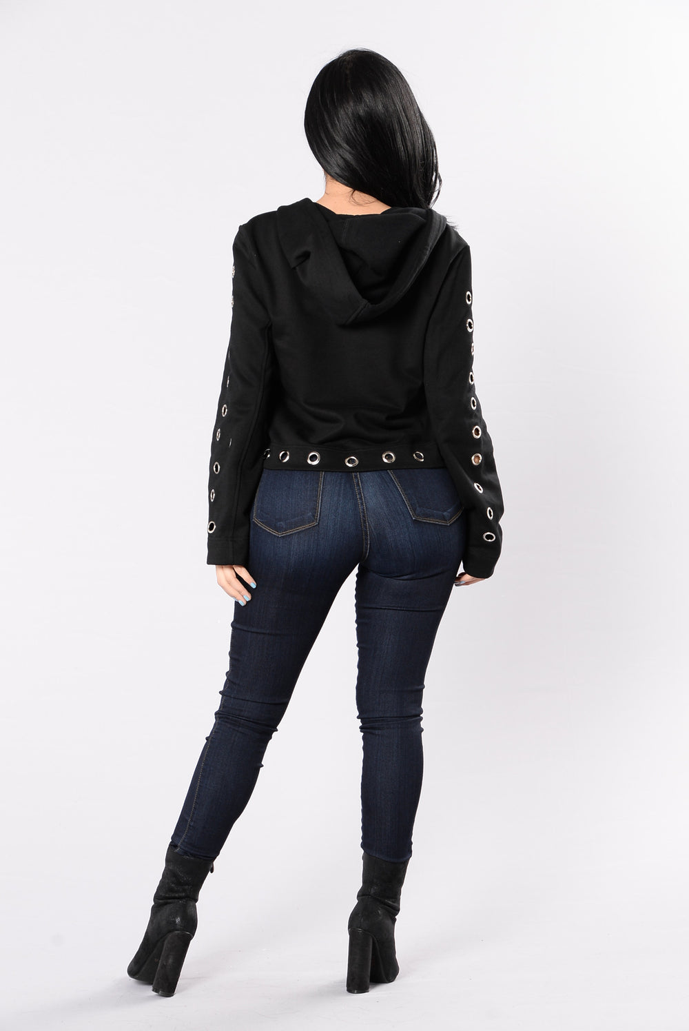 Traditional Lover Top - Black