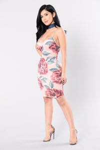 Kiss From Rose Dress - Blush