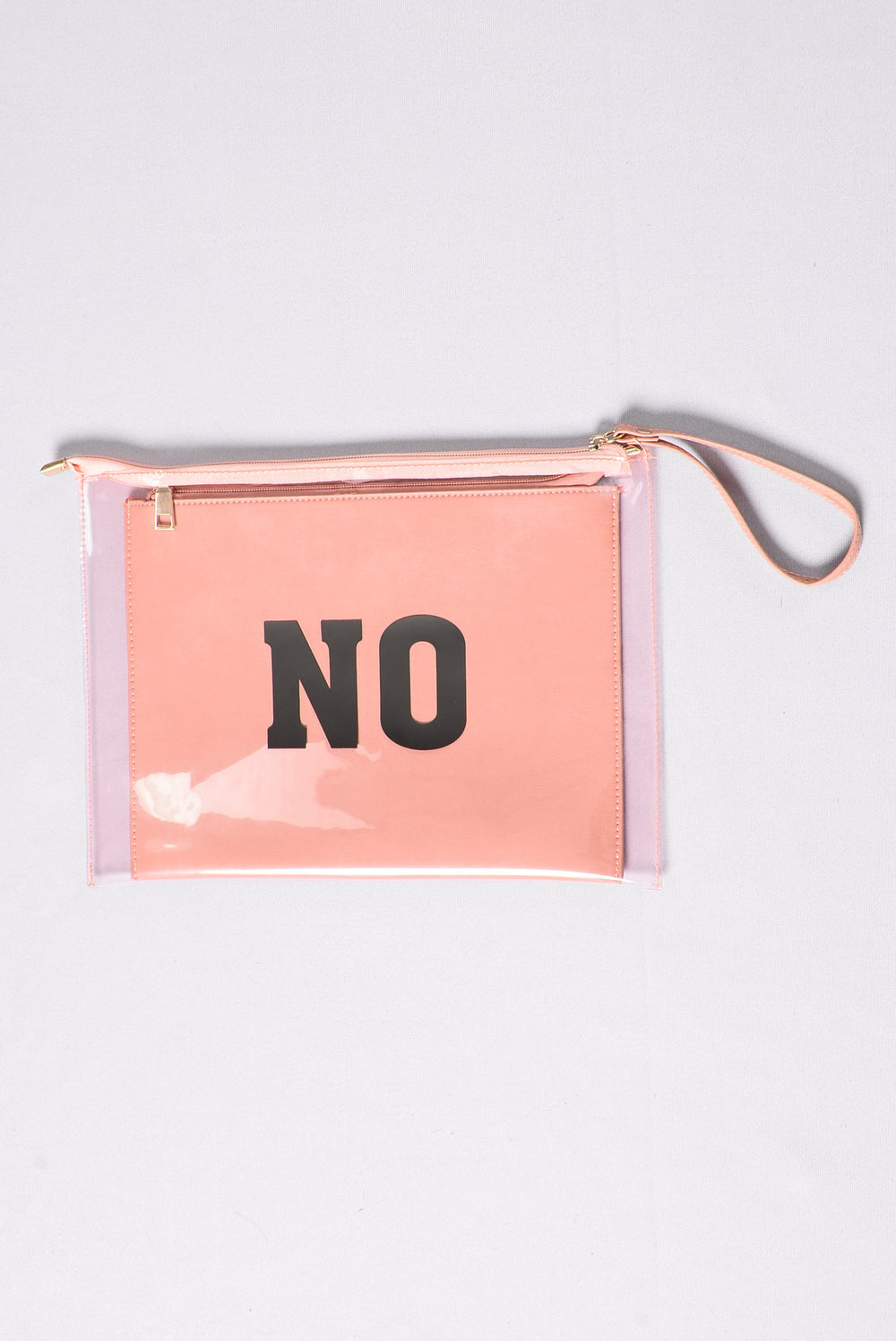 Make Up Your Mind Clutch - Pink