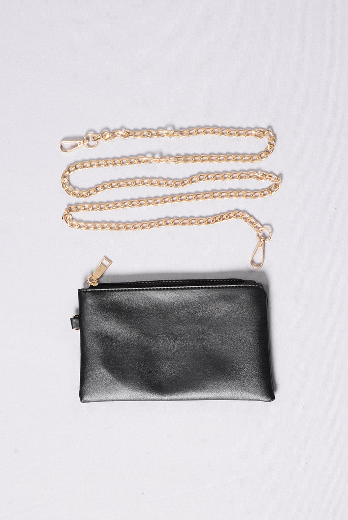 Clear Things Up Clutch - Pink