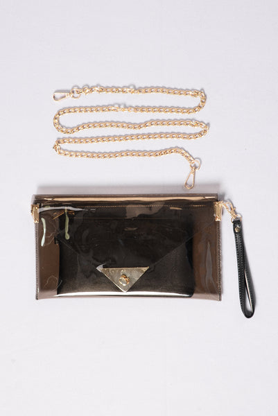 Clear Things Up Clutch - Black