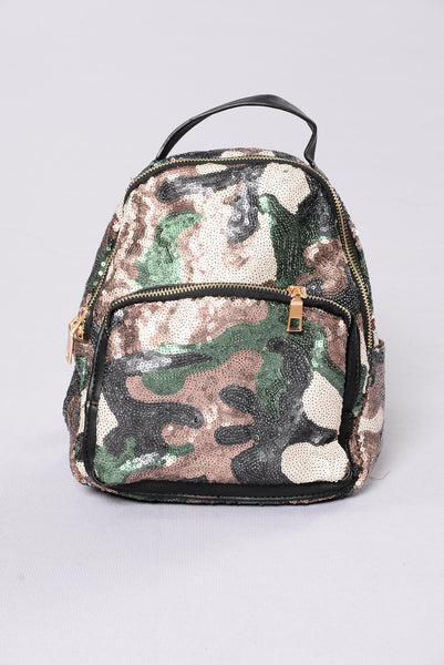 Love Is A Battlefield Backpack - Camo
