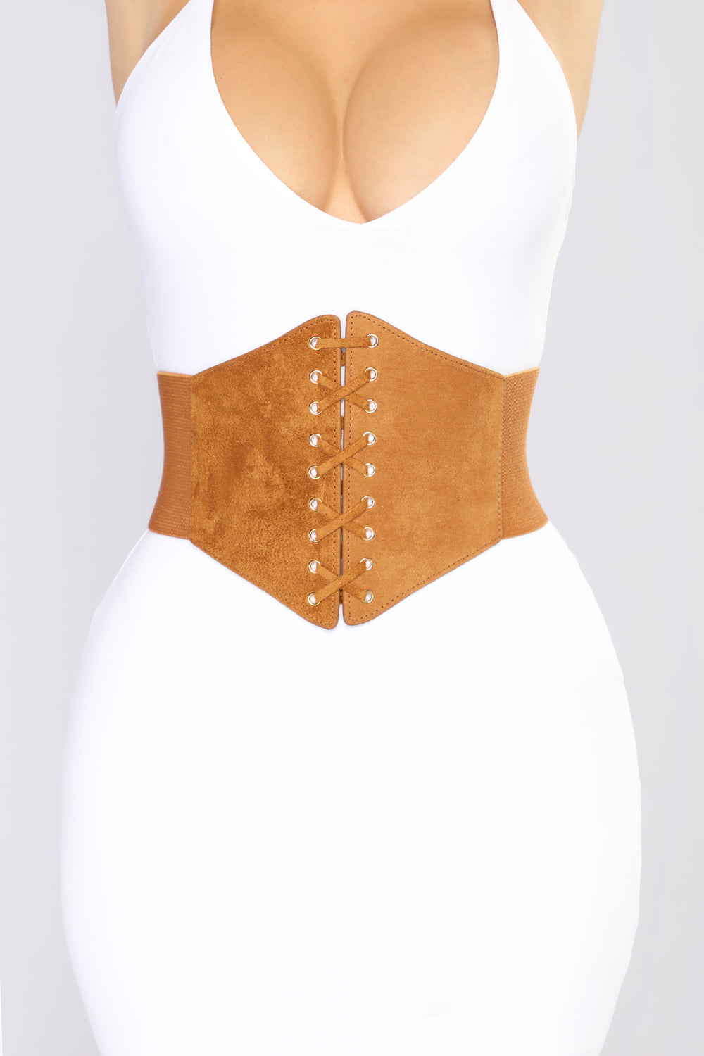 Everything I Need Corset Belt - Tan