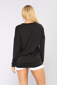 Not Your B Top - Black