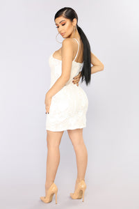 Sweetest Love Lace Dress - Off White