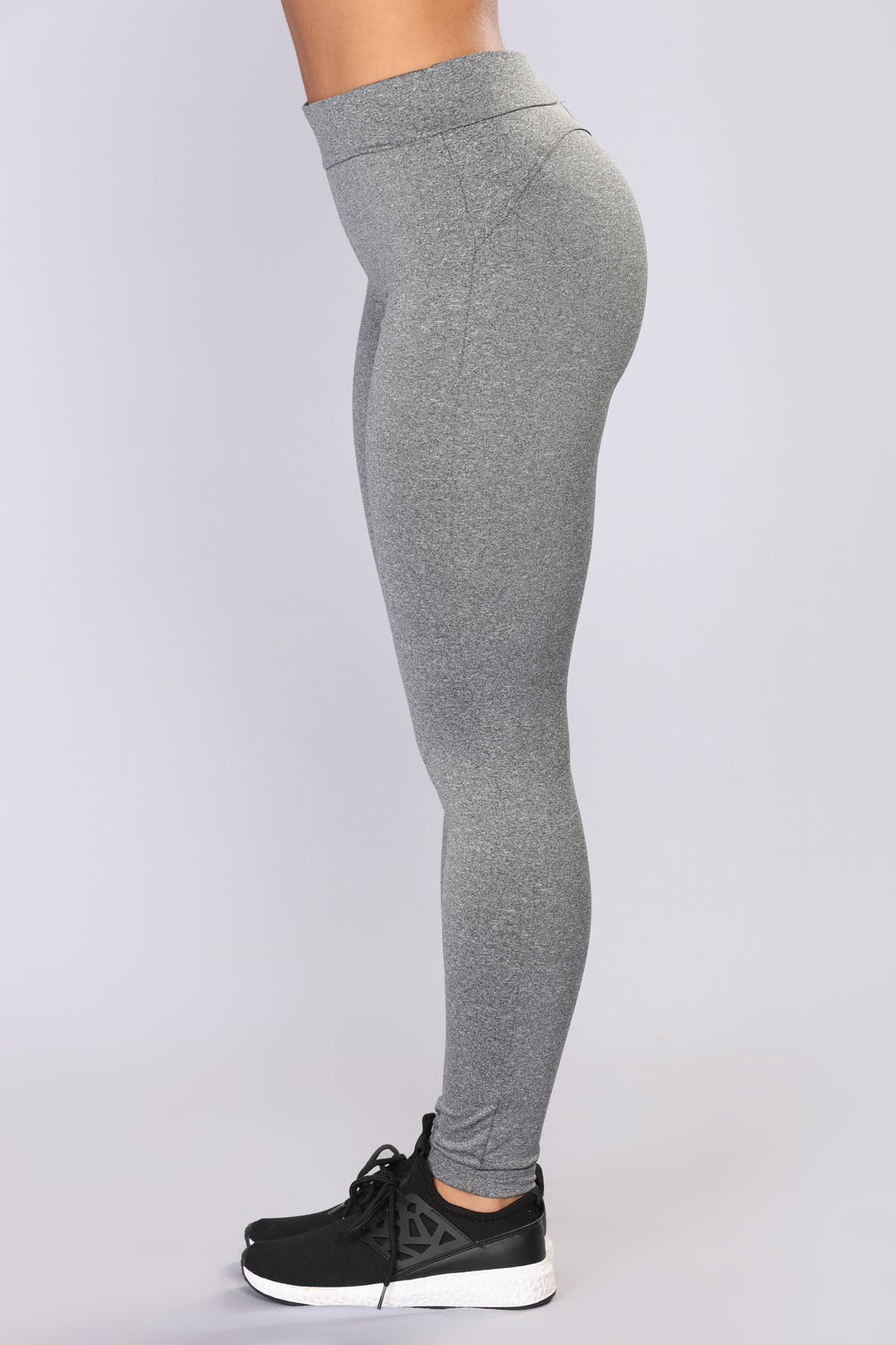 Bounce It Booty Shaping Active Leggings - Charcoal