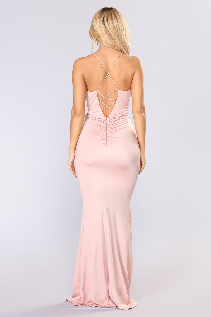 Something So Good Dress - Mauve