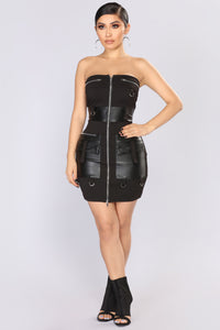 Nanor Tube Dress - Black