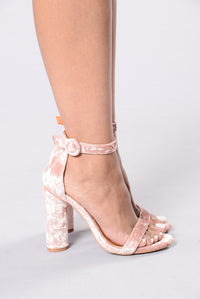 Bad Karma Heel - Blush