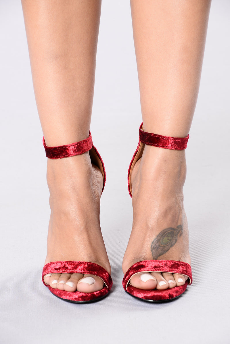 Bad Karma Heel - Red