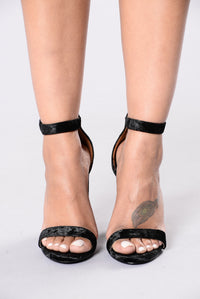 Bad Karma Heel - Black Angle 2