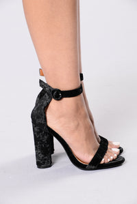 Bad Karma Heel - Black Angle 4