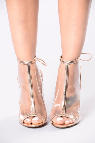 Belong To The City Boot - Rose Gold
