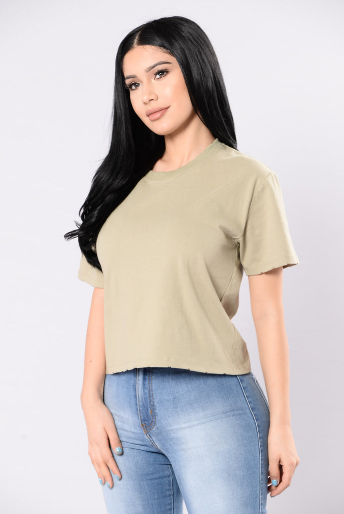 Hot N' Cold Tee - Olive
