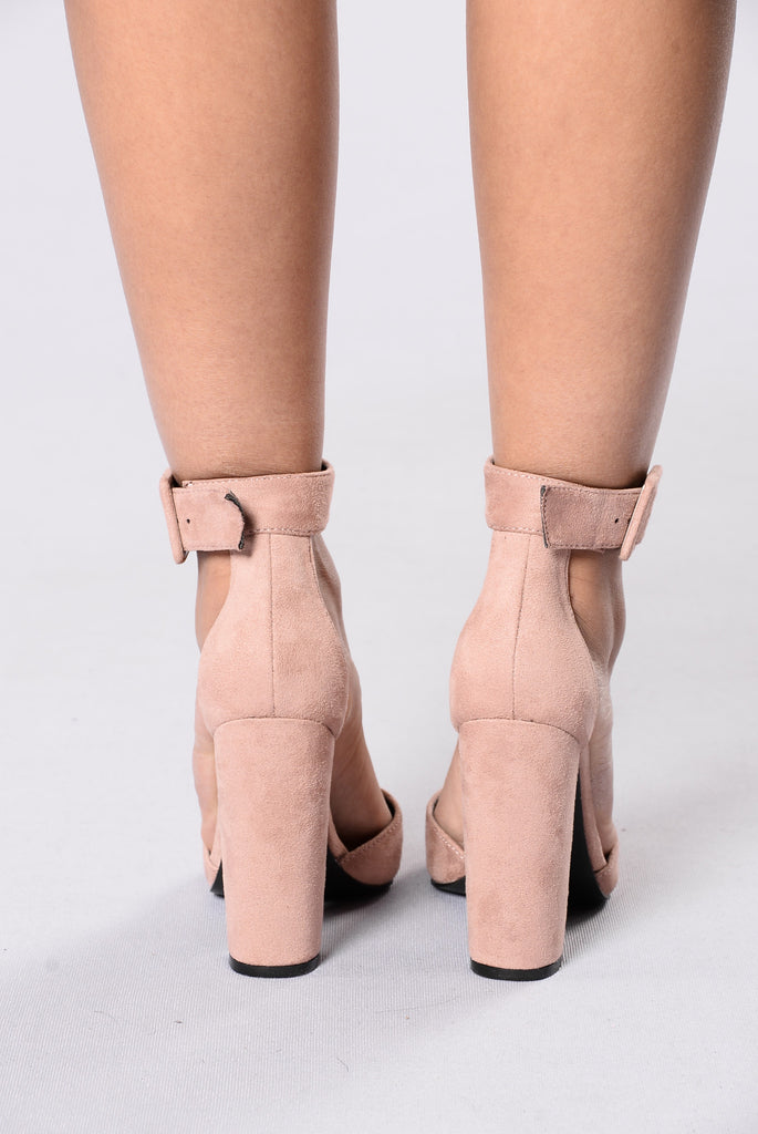 Fashionista Heel - Blush
