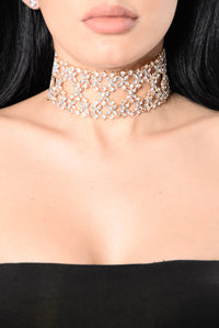 So If I Love You Choker - Gold