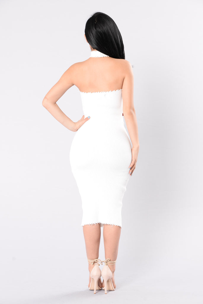 Articulate Dress - Off White