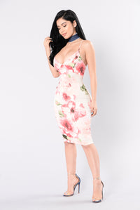 Into The Garden Dress - Pink