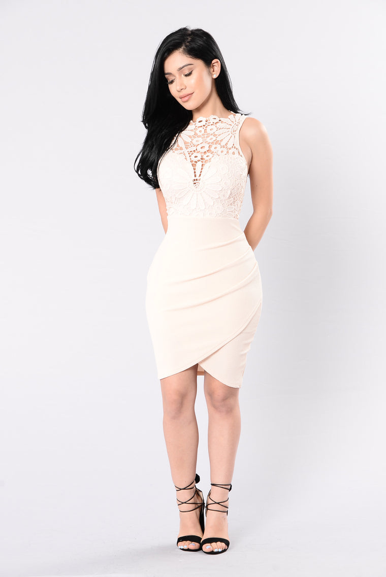 Anything Could Happen Dress - Blush
