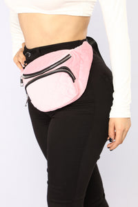 My Way Or The Pink Way Fanny Pack - Pink