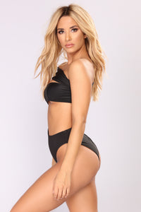 Try Me Swimsuit - Black Angle 4