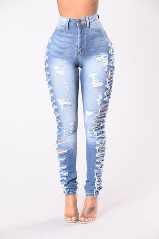 Adults Only Jeans - Medium Blue