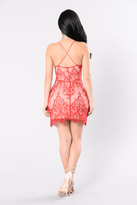 Vida Loca Dress - Red