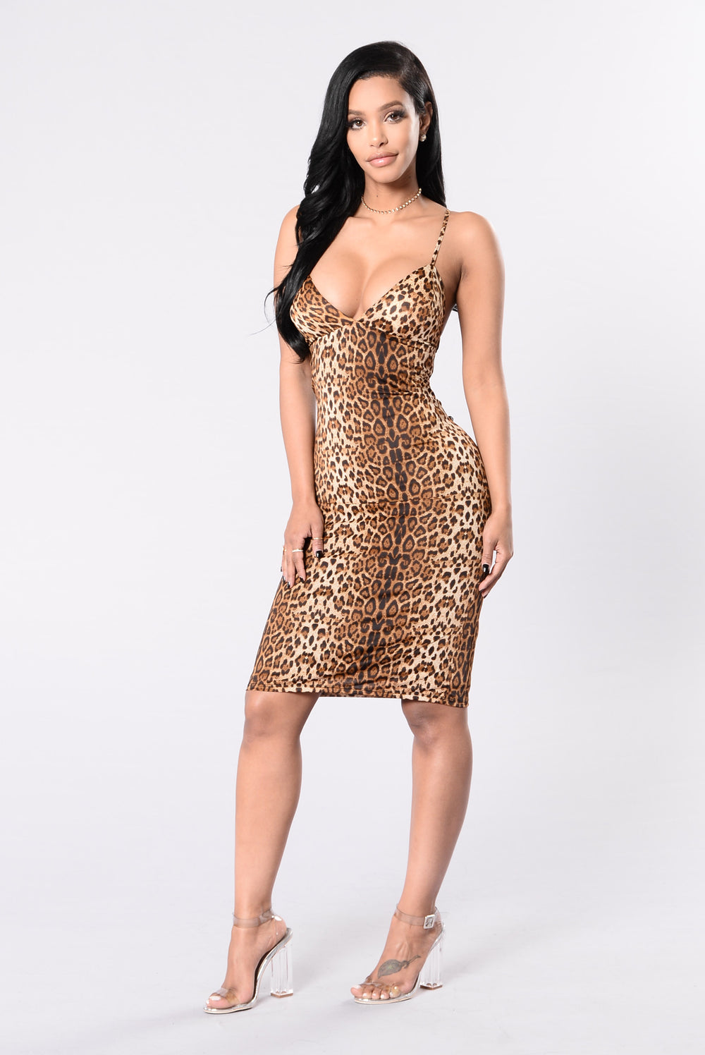 Great Catch Dress - Leopard