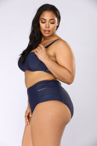 What You Sea Swim Set - Navy