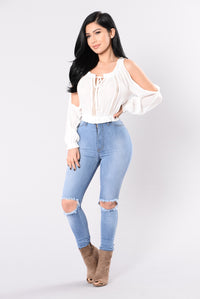 Close To The Heart Top - Ivory