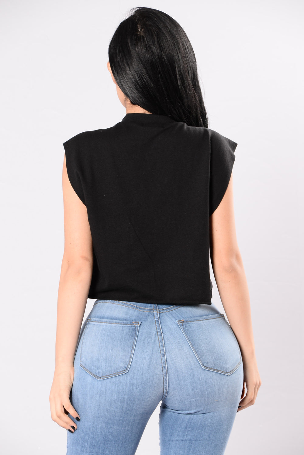 Play It Cool Top - Black