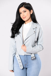 Full Throttle Jacket - Grey Blue