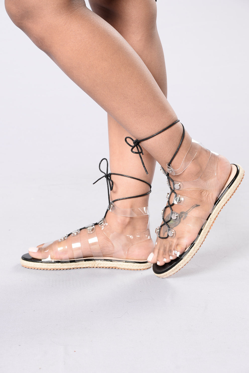 Loop Hole Sandal - Transparent