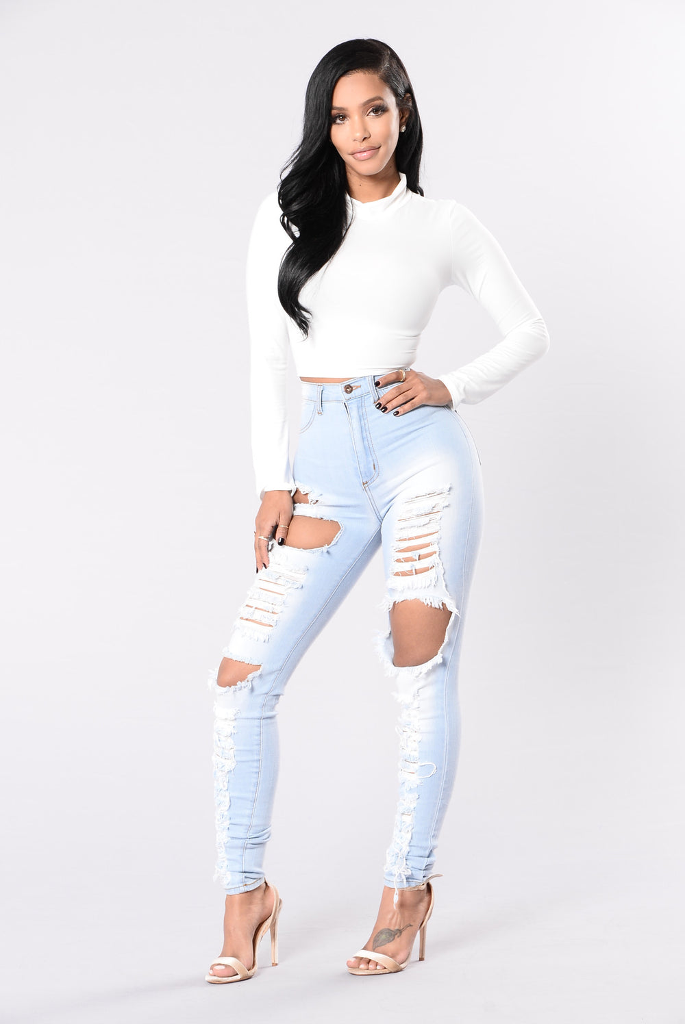 Lay Off Jeans - Light Blue