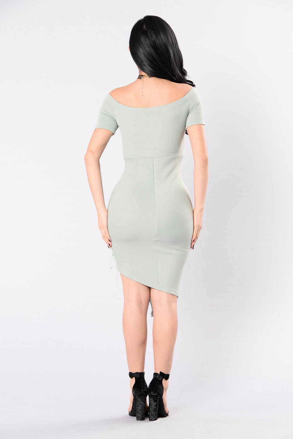 My Type Of Party Dress - Sage