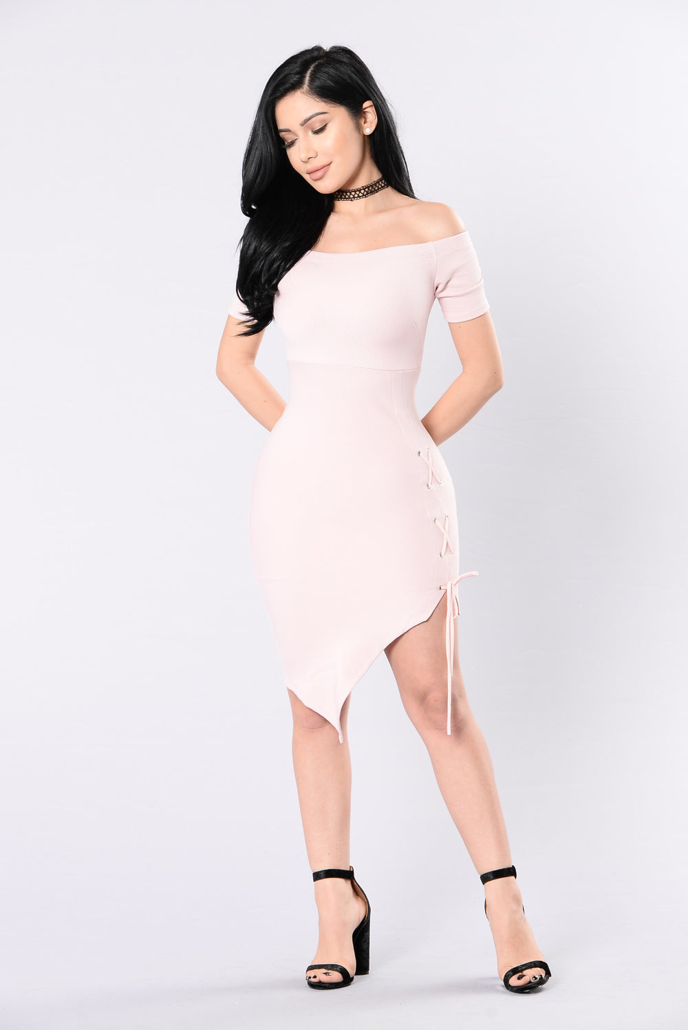 My Type Of Party Dress - Blush