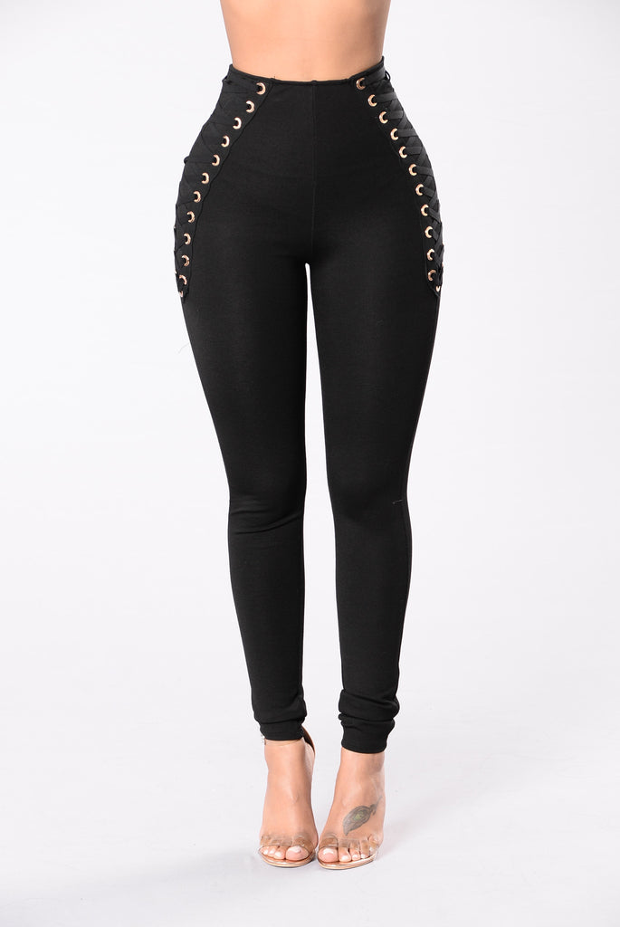 Fall Too Deep Pants - Black