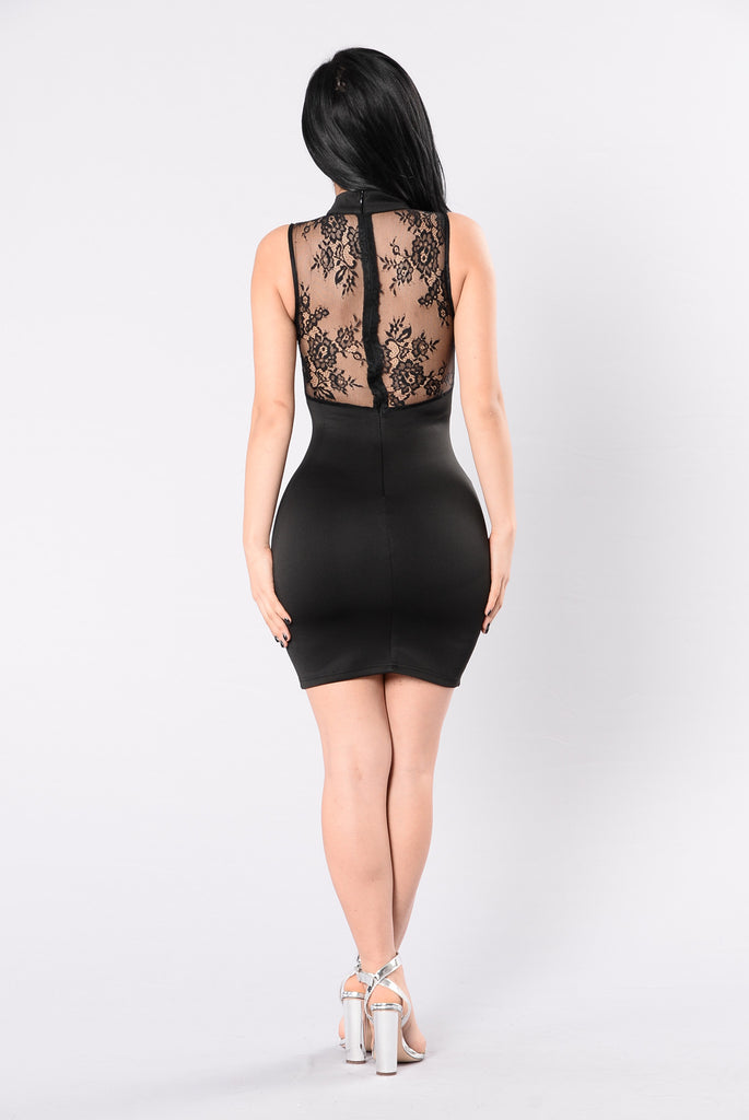 Royal Treatment Dress - Black
