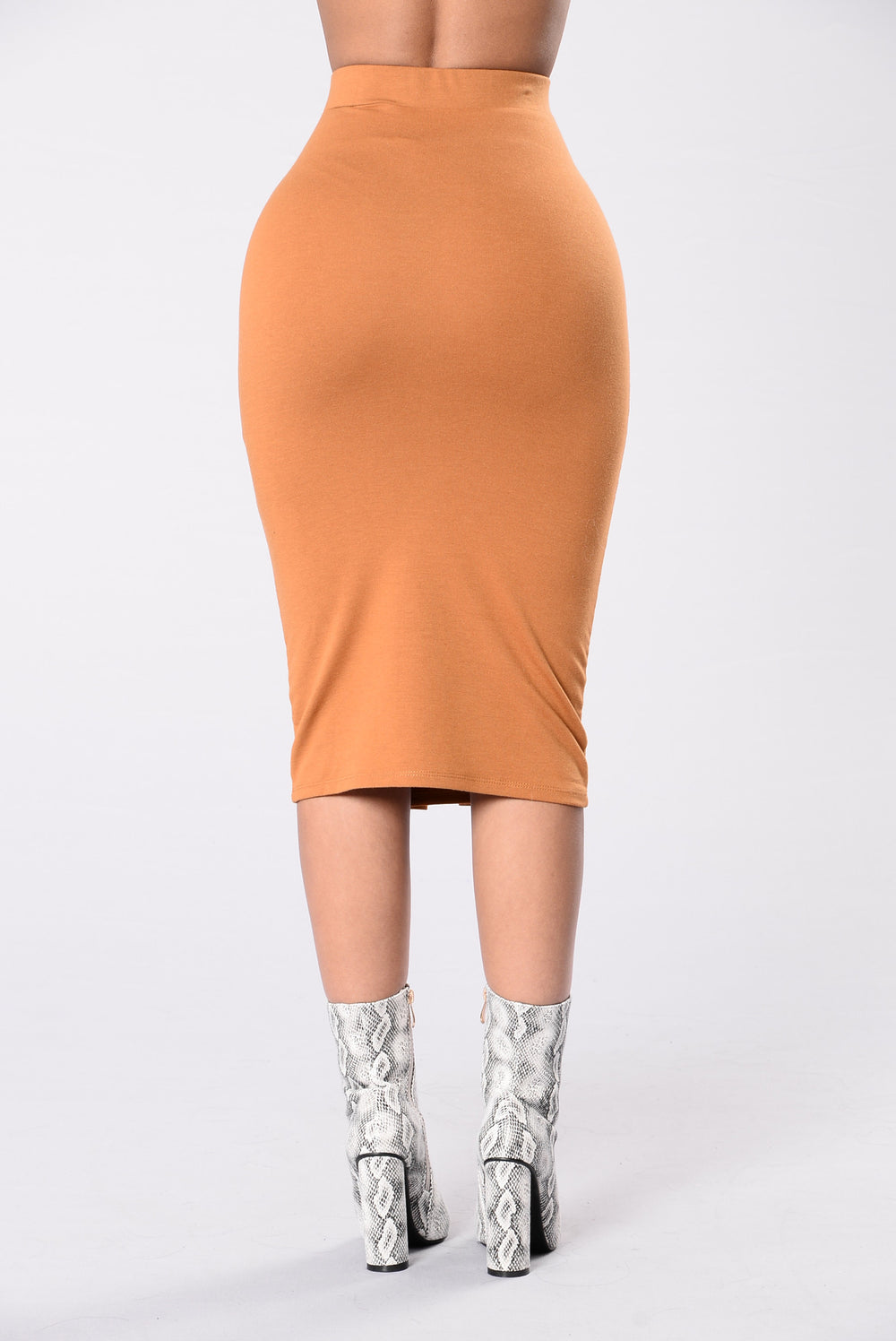 Forever Laced Up Skirt - Camel